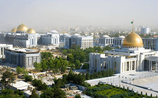 Transporte nach Turkmenistan