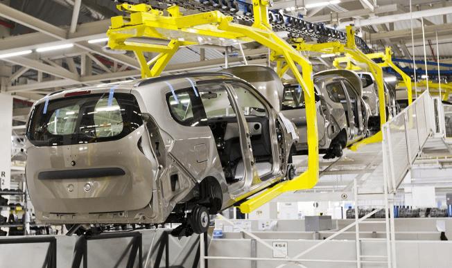 Logistik für die Automobil-Industrie