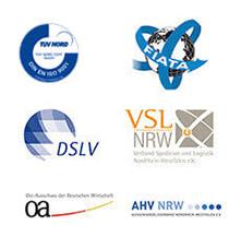 Logos ISO & Co Zertifikate